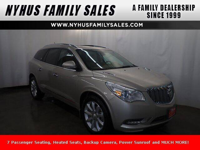 2017 Buick Enclave for sale at Nyhus Family Sales in Perham MN