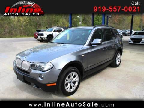 2010 BMW X3 for sale at Inline Auto Sales in Fuquay Varina NC