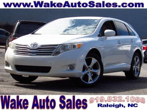 2009 Toyota Venza for sale at Wake Auto Sales Inc in Raleigh NC