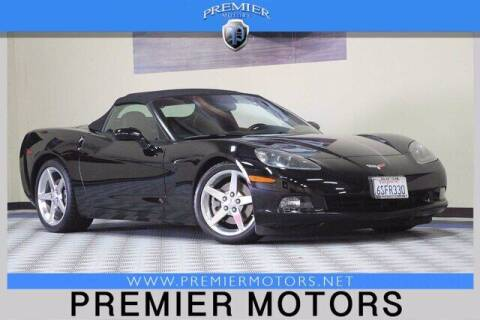 2005 Chevrolet Corvette for sale at Premier Motors in Hayward CA