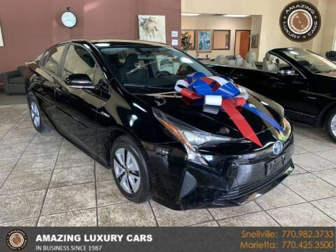 2016 Toyota Prius for sale at Amazing Luxury Cars in Snellville GA