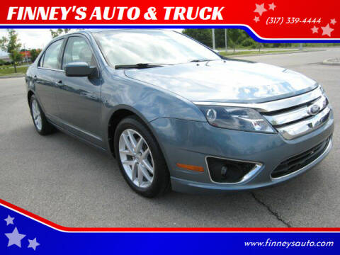 2011 Ford Fusion for sale at FINNEY'S AUTO & TRUCK in Atlanta IN