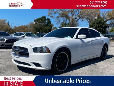 2014 Dodge Charger for sale at Sunny Florida Cars in Bradenton FL
