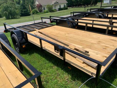 2020 Trible crown trailers U6X14-4 for sale at M&L Auto, LLC in Clyde NC