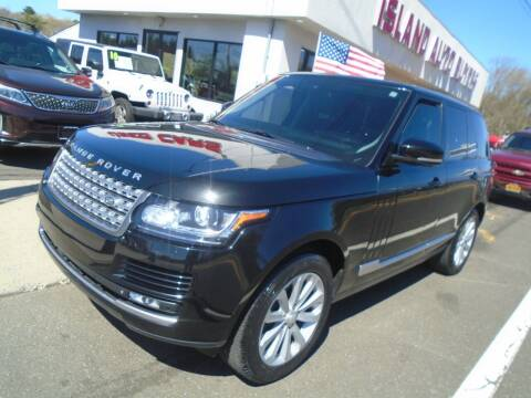 2014 Land Rover Range Rover for sale at Island Auto Buyers in West Babylon NY
