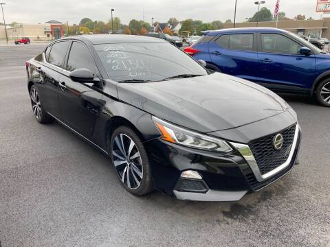 2019 Nissan Altima for sale at McCully's Automotive in Benton KY