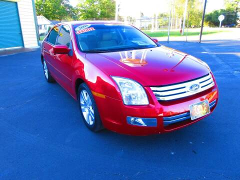 2008 Ford Fusion for sale at G and S Auto Sales in Ardmore TN