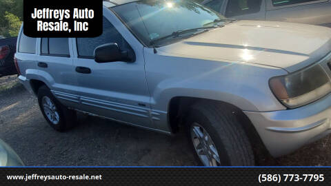 2004 Jeep Grand Cherokee for sale at Jeffreys Auto Resale, Inc in Clinton Township MI