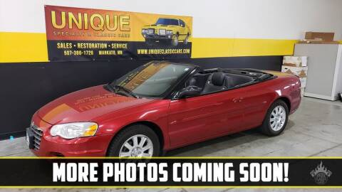 2006 Chrysler Sebring for sale at UNIQUE SPECIALTY & CLASSICS in Mankato MN