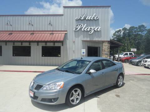 2009 Pontiac G6 for sale at Grantz Auto Plaza LLC in Lumberton TX