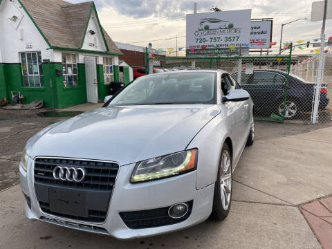2012 Audi A5 for sale at GO GREEN MOTORS in Denver CO