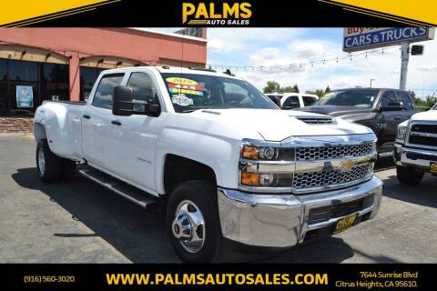 2019 Chevrolet Silverado 3500HD for sale at Palms Auto Sales in Citrus Heights CA