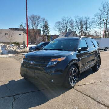 2014 Ford Explorer for sale at Bibian Brothers Auto Sales & Service in Joliet IL