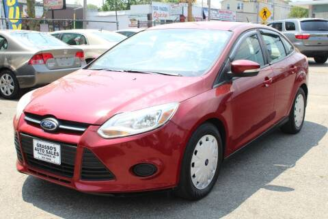 2013 Ford Focus for sale at Grasso's Auto Sales in Providence RI