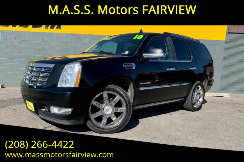 2010 Cadillac Escalade for sale at M.A.S.S. Motors - Fairview in Boise ID