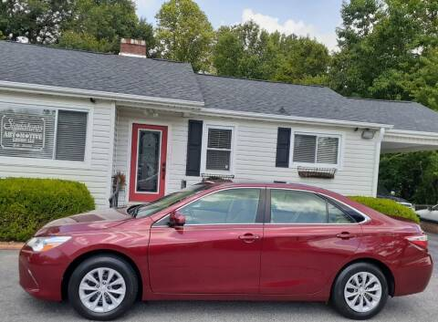 2016 Toyota Camry for sale at SIGNATURES AUTOMOTIVE GROUP LLC in Spartanburg SC