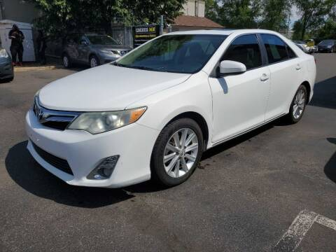2012 Toyota Camry for sale at MIDWEST CAR SEARCH in Fridley MN