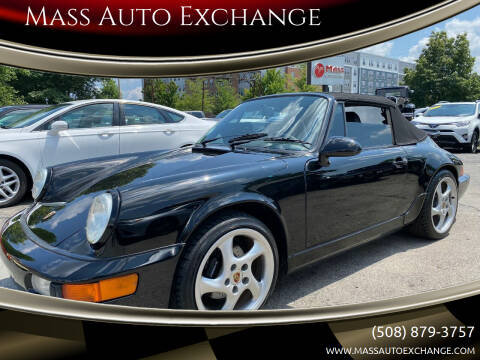 1993 Porsche 911 for sale at Mass Auto Exchange in Framingham MA