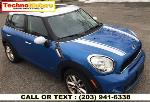 2011 MINI Cooper Countryman for sale at Techno Motors in Danbury CT