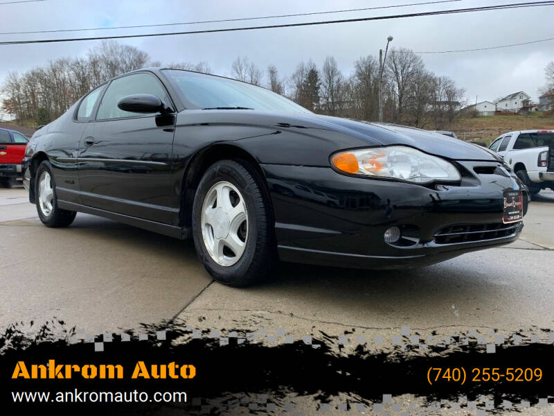 2000 Chevrolet Monte Carlo for sale at Ankrom Auto in Cambridge OH