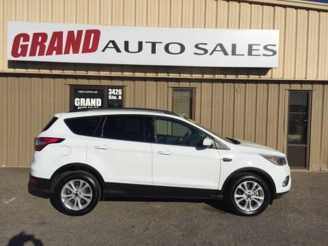 2018 Ford Escape for sale at GRAND AUTO SALES in Grand Island NE
