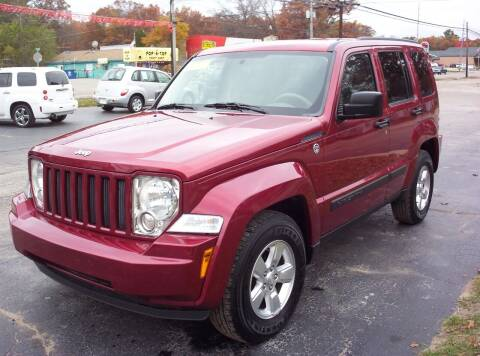 2012 Jeep Liberty for sale at LAKESIDE MOTORS LLC in Houghton Lake MI