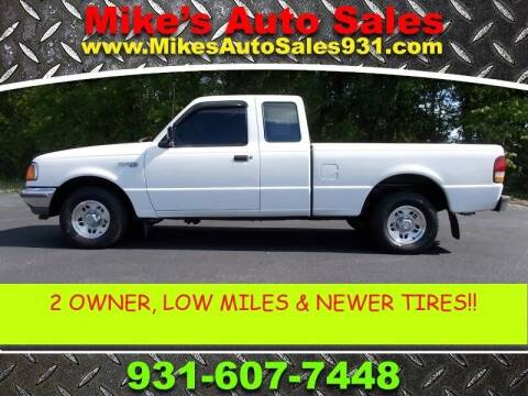 1997 Ford Ranger for sale at Mike's Auto Sales in Shelbyville TN