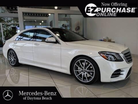 2018 Mercedes-Benz S-Class for sale at Mercedes-Benz of Daytona Beach in Daytona Beach FL