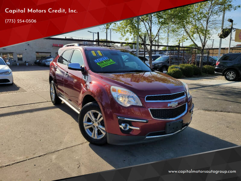 2011 Chevrolet Equinox for sale at Capital Motors Credit, Inc. in Chicago IL