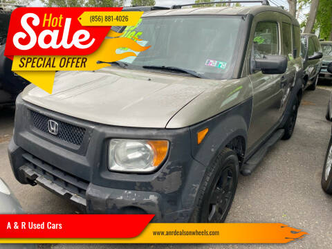 2003 Honda Element for sale at A & R Used Cars in Clayton NJ