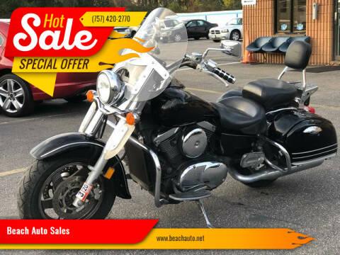 2004 Kawasaki VN1500-L for sale at Beach Auto Sales in Virginia Beach VA