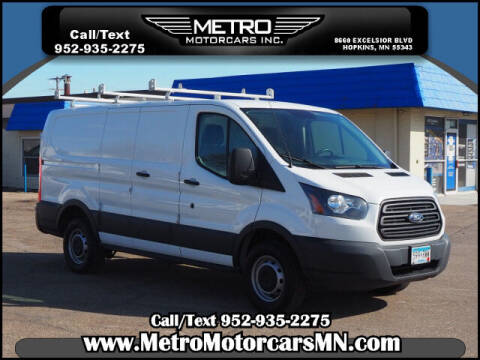 2015 Ford Transit Cargo for sale at Metro Motorcars Inc in Hopkins MN