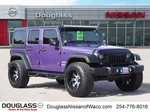 2017 Jeep Wrangler Unlimited for sale at Douglass Automotive Group in Central Texas TX