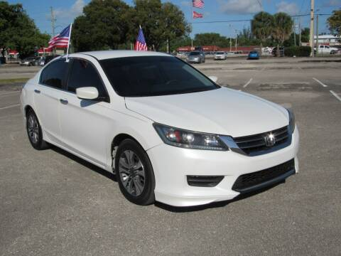 2013 Honda Accord for sale at United Auto Center in Davie FL