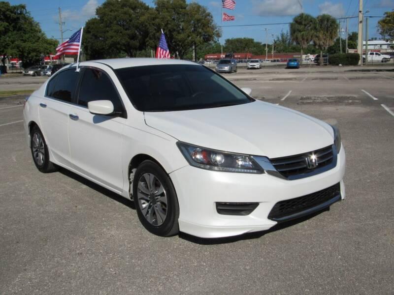 2013 Honda Accord for sale at United Auto Center in Davie FL