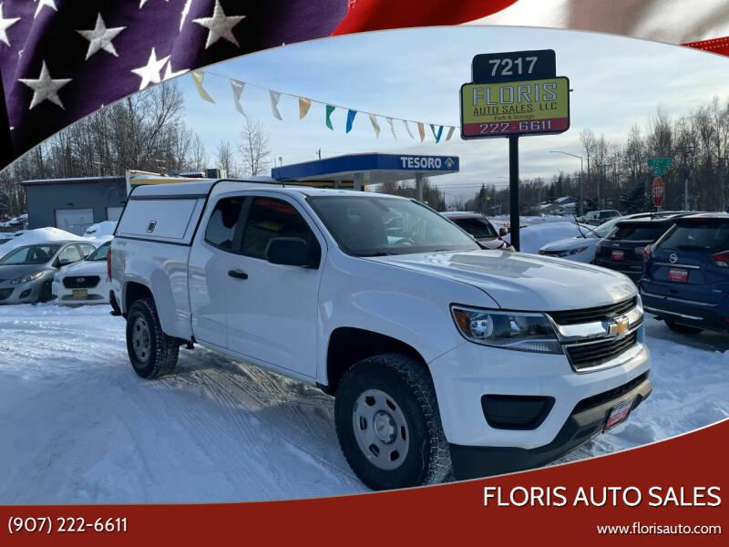 2019 Chevrolet Colorado for sale at FLORIS AUTO SALES in Anchorage AK