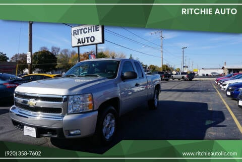 2008 Chevrolet Silverado 1500 for sale at Ritchie Auto in Appleton WI