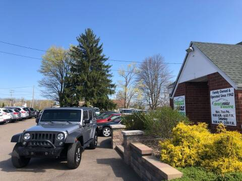 2016 Jeep Wrangler Unlimited for sale at Direct Sales & Leasing in Youngstown OH