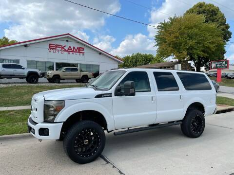 2001 Ford Excursion for sale at Efkamp Auto Sales LLC in Des Moines IA