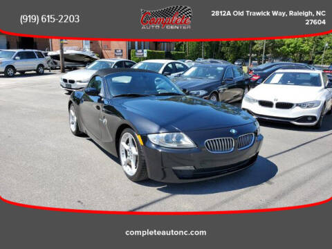 2008 BMW Z4 for sale at Complete Auto Center , Inc in Raleigh NC