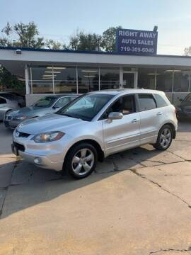 2007 Acura RDX for sale at Right Away Auto Sales in Colorado Springs CO