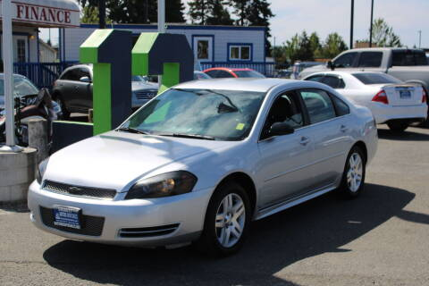 2013 Chevrolet Impala for sale at BAYSIDE AUTO SALES in Everett WA