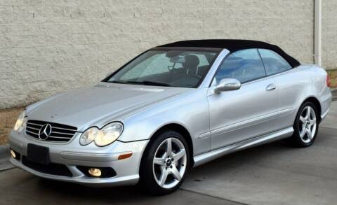 2005 Mercedes-Benz CLK for sale at Raleigh Auto Inc. in Raleigh NC