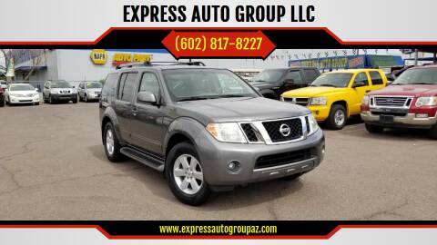 2008 Nissan Pathfinder for sale at EXPRESS AUTO GROUP in Phoenix AZ