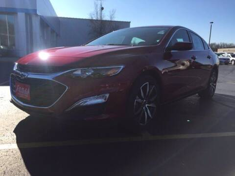 2021 Chevrolet Malibu for sale at Jones Chevrolet Buick Cadillac in Richland Center WI