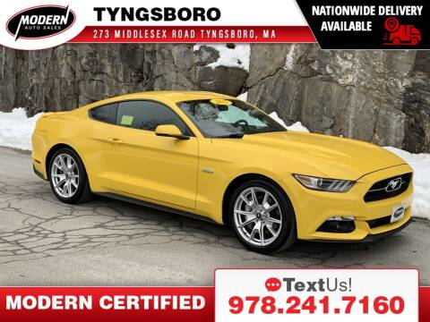 2015 Ford Mustang for sale at Modern Auto Sales in Tyngsboro MA