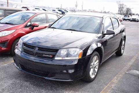 2014 Dodge Avenger for sale at BOB ROHRMAN FORT WAYNE TOYOTA in Fort Wayne IN