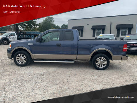 2005 Ford F-150 for sale at DAB Auto World & Leasing in Wake Forest NC