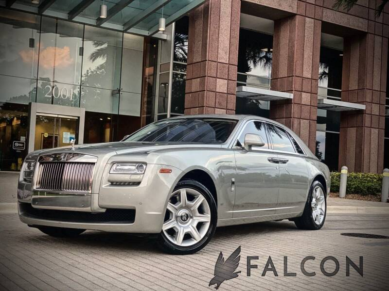2012 Rolls-Royce Ghost for sale at FALCON AUTO BROKERS LLC in Orlando FL
