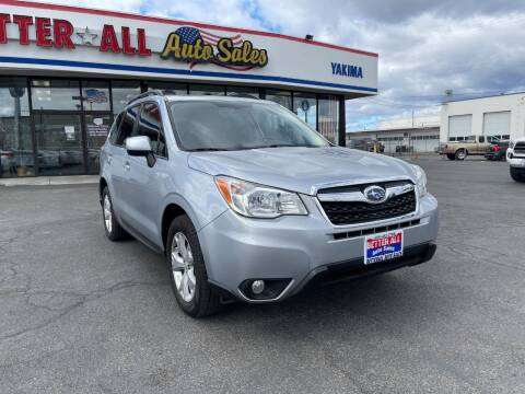 2014 Subaru Forester for sale at Better All Auto Sales in Yakima WA